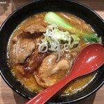 124644701 - 十勝ホエー豚麺 赤味噌 (1,180円)