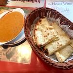 サーガル - キーマカレーとチーズナン