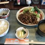 花ごぜん - 豚ロース生姜焼き定食