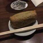 バー ゴヤ - アニバーサリーでいただいたいなり寿司