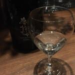 バー ゴヤ - アニバーサリーの特別メニュ 利き酒セットの2
