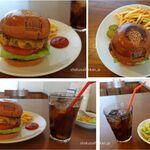 BURGER HOUSE GABURI - パインチーズバーガー。バーガーハウスGABURI (愛知県岡崎市)食彩品館.jp撮影