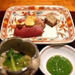 東山 吉寿 - 新潟産の本鴨のロースト
