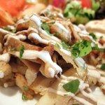 12466217 - シャワルマ(鶏のスパイシー炙り焼)