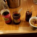 明神カフェ - 調味料