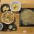 手打ちそば こころ - 料理写真:とり五目ご飯セット 1100円を+300円で粗挽そばに(2020年2月)