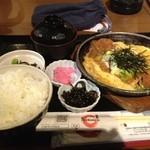 Narikoma-Ya - 日替わり定食 カツとじ