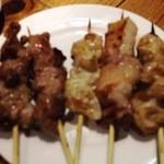 てっちゃん - 2012/04 豚はカシラとシロ、ラム(羊)です。