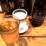 てっちゃん - 2012/04 ホッピー、焼酎は金宮。
