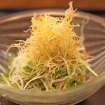 京都祇園 天ぷら八坂圓堂 - 圓堂特性サラダ