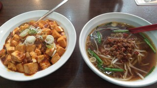 中華料理 金源 - ラーメンセット