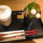 茶寮翠泉 京都祇園 - 注文した2品 計1551円