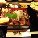 板前バル - 「ステーキ重定食(¥1,000税込)」