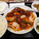 124684358 - 酢豚定食:850円