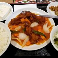 南国亭-酢豚定食:850円