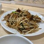 ラーメン厨房 シルクロード - 肉野菜炒め定食
