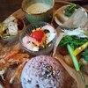 灯環 - 料理写真:農園野菜のごはんプレート