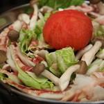 せっせ - 人気のトマト鍋☆和風だしでさっぱりと♪