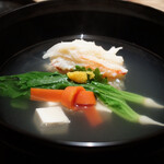 銀座ふじやま - 蟹しんじょの碗