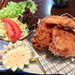 大浜丸 魚力 - 鯵フライ、ワラサのフライ、クリームコロッケ