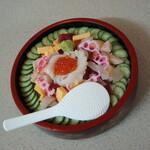 湯の泉 東名厚木健康センター - 花ちらし寿司