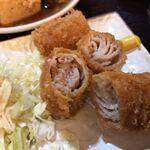 Okinawadainingunagomi - あぐー豚バラ肉のミルフィーユカツ