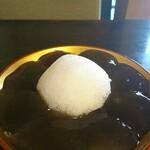 124697847 - トロトロわらび餅
