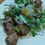 カミヤ - レバ焼き(レア)