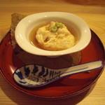 京料理 おとなり - 汲み上げ湯葉。