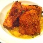 マリブ食堂 - 真鯛のカツレツ~小エビと彩り野菜のソースで~