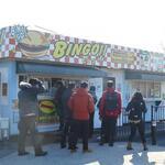 ビンゴバーガー - お店の外観