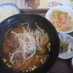 Tenshinroutaipei - 台湾屋台風牛肉汁そば