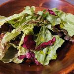 ギャラリーカフェ ルーシー - セットのサラダ
