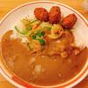 印度カレー - 料理写真:カキフライ野菜カレー ¥1070