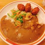 印度カレー - カキフライ野菜カレー ¥1070