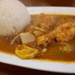 かえる食堂 - 料理写真:ミックスカレー
