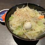 麒麟倶楽部 - 料理写真:ちゃんぽん(紅生姜別皿)