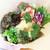 クンバ ドゥ ファラフェル - ファラファルサンド:レタス、フムス、タヒニソースたっぷり&アクセントにパクチーソース、パプリカ、紫キャベツ、驚いたのはフムスの量。上半分フムスではないかと思うほどまったり舌に絡みつく素晴らしい豆ペースト。パンは注文を聞いてから手作り。下の方にこうばしい豆コロッケがたくさん潜んでいます。なかなか食べ応えあり。 ランチセットで¥1200