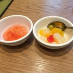 センディーテラス - いちごゼリーとフルーツポンチ
