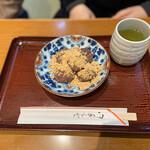 久寿餅本舗 住吉 - きな粉餅