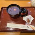 久寿餅本舗 住吉 - おしるこ