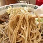 桂花ラーメン - 【再訪】麺