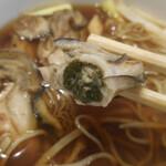 Uenoyabusoba - 牡蠣;アップ