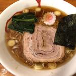 かまや食堂 - 料理写真:旨いよ〜!中華そば♡