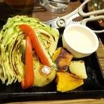和民 - 野菜グリル明太マヨソース