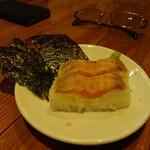 新鮮魚介・浜焼きとワインのお店 Fish Market - お通し