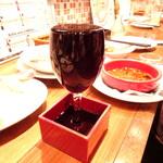 新鮮魚介・浜焼きとワインのお店 Fish Market - こぼれワイン