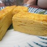 蕎麦処 黒帯 - 名古屋コーチンの玉子焼き