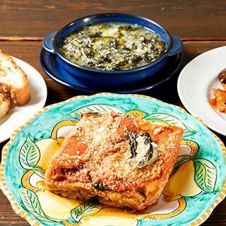 本場仕込みのシチリア料理をご堪能いただけます!