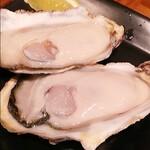 赤羽の ざきや - ノロウィルス検査を通った牡蠣